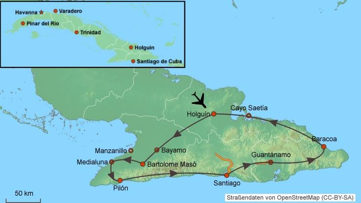 Motorradtour Kuba